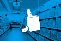 Digital Signage Grocery