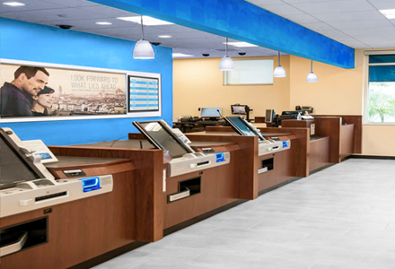 Bank and Insurance Digital Signage