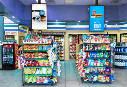 Convenience Store Digital Signage