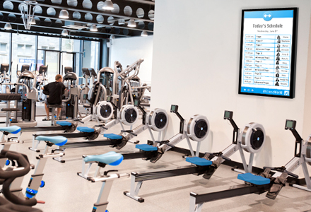Fitness Digital Signage