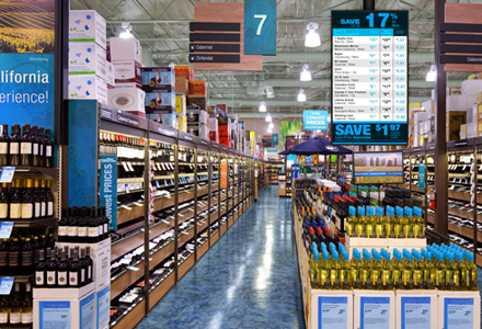 Liquor Store Digital Signage