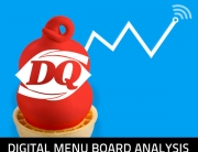 ClockNine provides Dairy Queen with Digital Menu Board Visual Analysis.